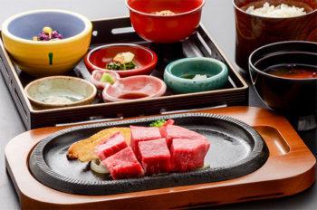 米沢牛膳ヒレステーキ膳