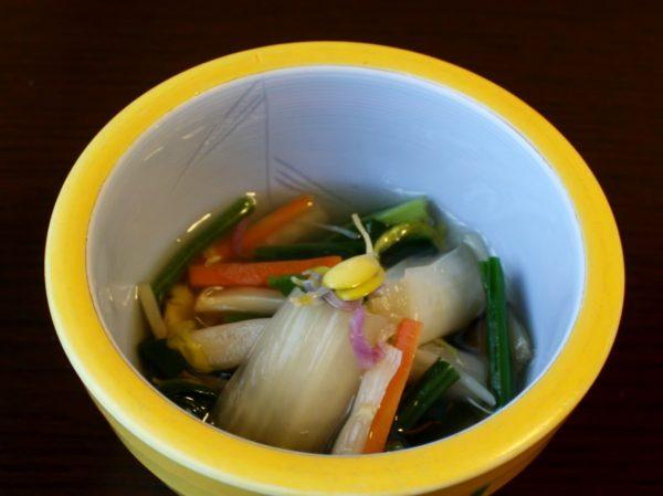 雪菜の冷汁